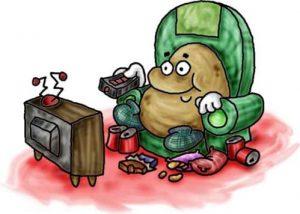 couch potato 300x214 Aan de Keukentafel: Is zitten het nieuwe roken?