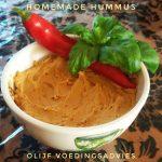 %name Hummus, homemade wel zo lekker en gezond.