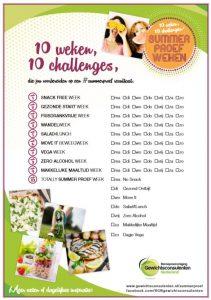 10 weken challenges 211x300 Summer Proef weken, zomerslank