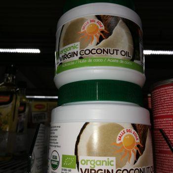 kokosolie kokosvet